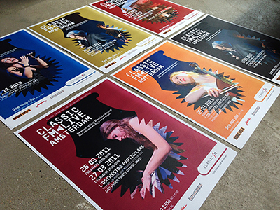 Poster campagne voor tourende producties van Classic FM Live.