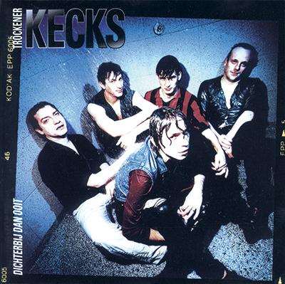 CD-ontwerp voor Tröckener Kecks 'Dichterbij dan ooit'.