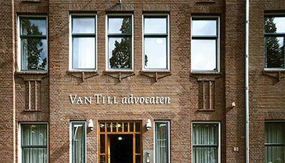 Logo en huisstijl van Till Advocaten.