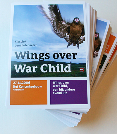 Benefietconcert 'Wings over war Child', look