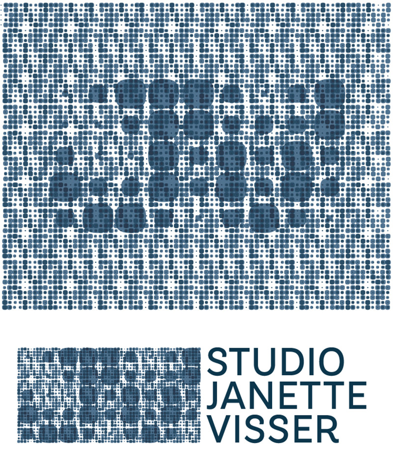 Logo voor Studio Janette Visser, gespecialiseerd in PMU.